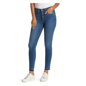 Madewell Womens Cropped High Rise Skinny Jeans 28